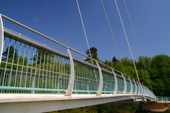 αναστολή γεφυρών Στοκ εικόνα με δικαίωμα ελεύθερης χρήσης