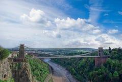 αναστολή γεφυρών clifton στοκ εικόνα με δικαίωμα ελεύθερης χρήσης