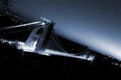 αναστολή 2 γεφυρών clifton Στοκ Εικόνες