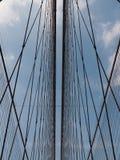 Αναστολή γεφυρών του Μπρούκλιν στοκ εικόνα με δικαίωμα ελεύθερης χρήσης