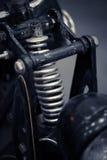 Αναστολή μοτοσικλετών στοκ εικόνες