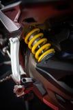 Αναστολή μοτοσικλετών στοκ φωτογραφία με δικαίωμα ελεύθερης χρήσης