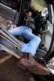 ανασύνθεση ατυχήματος στοκ εικόνες