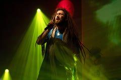 Ανατολής-Δύσης Rockers/Ras Luta - Adam Tersa Στοκ Φωτογραφίες