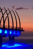 Ανατολή αποβαθρών Umhlanga Στοκ φωτογραφία με δικαίωμα ελεύθερης χρήσης