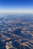 ανατολή βουνών Στοκ Φωτογραφία