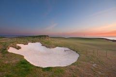 ανατολή γκολφ σειράς μα&th Στοκ Εικόνα
