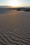 ανατολή ερήμων Στοκ Φωτογραφία