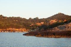 ανατολή νησιών giannutri Στοκ φωτογραφία με δικαίωμα ελεύθερης χρήσης