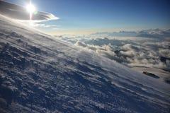 Ανατολή πέρα από Elbrus Στοκ Εικόνες