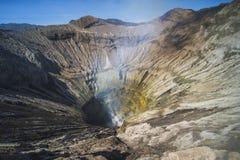 Ανατολή στην ΑΜ ηφαιστείων Ανατολική Ιάβα Gunung Bromo Bromo, Ινδονησία στοκ εικόνα με δικαίωμα ελεύθερης χρήσης