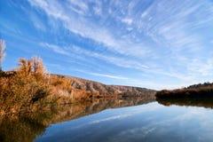 Ανατολή στη λίμνη Eymir, Άγκυρα Τουρκία Στοκ φωτογραφία με δικαίωμα ελεύθερης χρήσης