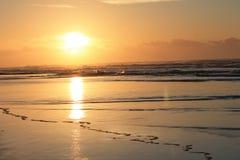 Ανατολή στο ανατολικό ακρωτήριο Νότια Αφρική κόλπων του Morgan Στοκ φωτογραφίες με δικαίωμα ελεύθερης χρήσης