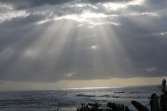 Ανατολή στο ανατολικό ακρωτήριο Νότια Αφρική κόλπων του Morgan στοκ φωτογραφία με δικαίωμα ελεύθερης χρήσης
