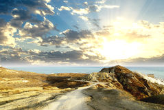 ανατολή τοπίων Στοκ εικόνες με δικαίωμα ελεύθερης χρήσης