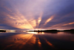 ανατολή Στοκ Εικόνες