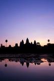 ανατολή angkor wat Στοκ εικόνα με δικαίωμα ελεύθερης χρήσης