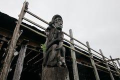 Ανατολή Kalimantan σπιτιών Lamin Στοκ εικόνα με δικαίωμα ελεύθερης χρήσης