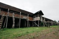 Ανατολή Kalimantan σπιτιών Lamin Στοκ Εικόνες