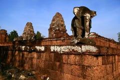 Ανατολή Mebon, Angkor Στοκ φωτογραφία με δικαίωμα ελεύθερης χρήσης