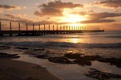 ανατολή playa Carmen del Μεξικό Στοκ Φωτογραφίες