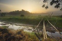 Ανατολή Woderful στοκ φωτογραφίες