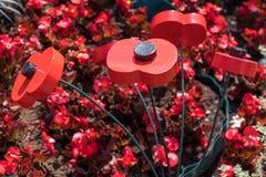 ΑΝΑΤΟΛΗ GRINSTEAD, ΔΎΣΗ SUSSEX/UK - 3 ΙΟΥΛΊΟΥ: Άποψη τεχνητού λαϊκού Στοκ Εικόνες