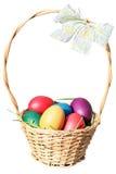 ανατολικά αυγά καλαθιών Στοκ εικόνες με δικαίωμα ελεύθερης χρήσης