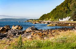 Ανατολική ακτή της Βόρειας Ιρλανδίας Στοκ Φωτογραφία