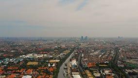 Ανατολική Ιάβα πρωτευουσών του Surabaya, Ινδονησία στοκ εικόνα με δικαίωμα ελεύθερης χρήσης