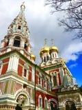 Ανατολική Ορθόδοξη Εκκλησία του Nativity Χριστού, Shipka, Βουλγαρία στοκ φωτογραφίες