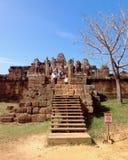 Ανατολικός ναός Mebon σε Angkor wat σύνθετο, Καμπότζη Χτισμένο duri Στοκ εικόνες με δικαίωμα ελεύθερης χρήσης