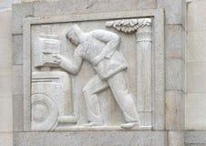 ` Ανατολικός Mailman ` από το Edmond Amateis, Robert N Γ Nix, SR Ομοσπονδιακά κτήριο & ταχυδρομείο Στοκ φωτογραφία με δικαίωμα ελεύθερης χρήσης