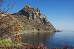 ανατολικό βουνό karadag της Κριμαίας Στοκ Φωτογραφίες