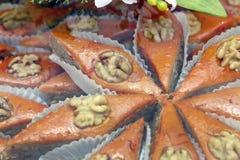 _ ανατολικό γλυκό _ Του Αζερμπαϊτζάν pakhlava Στοκ εικόνα με δικαίωμα ελεύθερης χρήσης