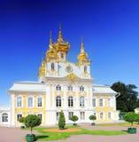 ανατολικό παλάτι petergof Πετρούπολη ST παρεκκλησιών Στοκ εικόνες με δικαίωμα ελεύθερης χρήσης