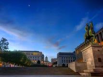 ανατολή βραδιού της Ευρώπης έννοιας πόλεων Στοκ εικόνες με δικαίωμα ελεύθερης χρήσης