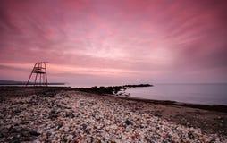 Ανατολή πέρα από τη θάλασσα στοκ φωτογραφία με δικαίωμα ελεύθερης χρήσης