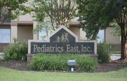 Ανατολή παιδιατρικής στοκ εικόνες