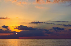 Ανατολή παραλιών θάλασσας Στοκ Εικόνα