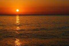 Ανατολή παραλιών θάλασσας Στοκ φωτογραφίες με δικαίωμα ελεύθερης χρήσης