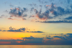Ανατολή παραλιών θάλασσας Στοκ φωτογραφία με δικαίωμα ελεύθερης χρήσης