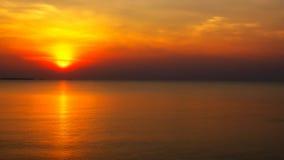Ανατολή παραλιών και θάλασσας Στοκ Εικόνες