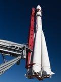 Ανατολή πυραύλων μνημείων Στοκ Φωτογραφία