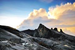Ανατολή σε Mt.Kinabalu Στοκ εικόνα με δικαίωμα ελεύθερης χρήσης