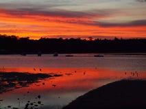 Ανατολή στην Αυστραλία Στοκ εικόνες με δικαίωμα ελεύθερης χρήσης