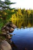 Ανατολή στη λίμνη κέδρων Στοκ φωτογραφίες με δικαίωμα ελεύθερης χρήσης