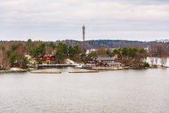 Ανατολή στη θάλασσα της Βαλτικής στοκ εικόνα