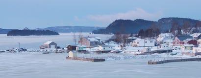 Ανατολή στον όρμο Στοκ φωτογραφίες με δικαίωμα ελεύθερης χρήσης
