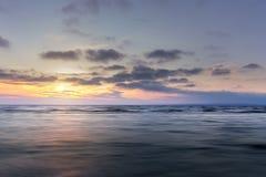 Ανατολή στο νερό Στοκ φωτογραφίες με δικαίωμα ελεύθερης χρήσης